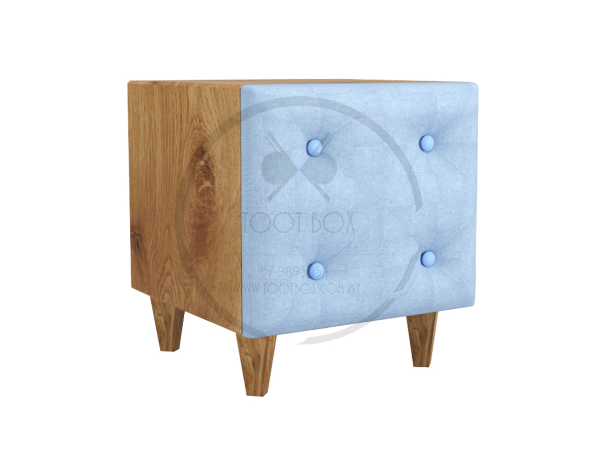 Dove Bed Side Table